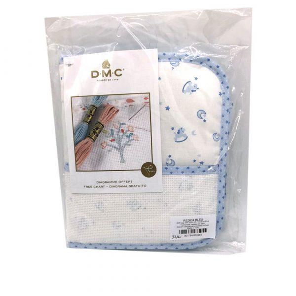 Pochette regalo BabyStars RS2634 Blu_0